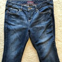 Tommy Hilfiger Freedom Womens Medium Wash Flare Denim Stretch Jeans Blue Size 10