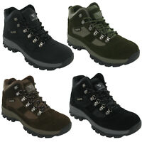 Mens Waterproof Walking Boots Snowdon Hiking Lace Up Trail Trekking Shoes 7-12