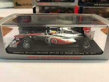Spark Mclaren MP4/26 Lewis Hamilton winner Chinese GP 2011 1/43 S3022