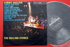 ROLLING STONES GIMME SHELTER 1977  BLACK DECCA LABEL #1 RARE EXYUGO LP N/MINT