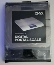Onyx Stainless Steel 5 Lb Digital Postage Scale