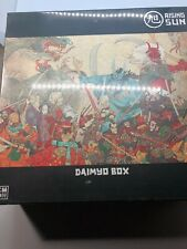 Rising Sun Daimyo Box - CMON Board Game Kickstarter Exclusives NEW in Shrink