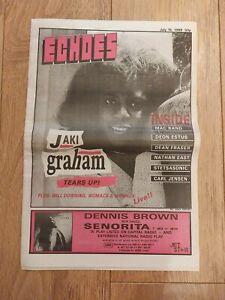ECHOES MAGAZINE 16 JULY 1988 JAKI GRAHAM DEON ESTUS MAC BAND DEAN FRASER