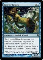 SAGE OF FABLES Morningtide MTG Blue Creature — Merfolk Wizard Unc