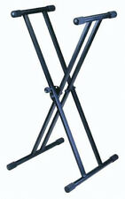 NEW Adjusting Piano Keyboard Stand.Folding Easy Travel.Musical Instrument.Black.