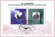 BRD 1995: Kriegsende! Block Nr. 31 mit dem Bonner Ersttags-Sonderstempel!