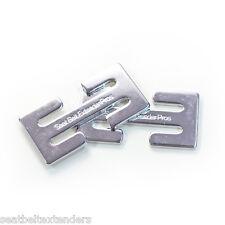 Clip Frankie de Ajuste para Cinturón de Seguridad (Metal, 2-Paquete)
