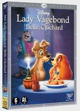 LADY EN DE VAGEBOND la belle et le clochard : WALT DISNEY dvd DIAMOND EDITION