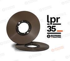 """LPR35 1/4"""" x 3600' RTM REEL TO REEL TAPE NAB PANCAKE HUB"""