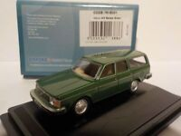 Volvo 245 - Green , Model Cars, Oxford Diecast 1/76