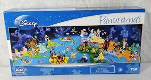 New MEGA Disney Panoramas WORLD OF DISNEY 750 Panoramic Jigsaw Puzzle Unopened