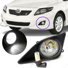 2X Front Bumper Fog Lights with H11 LED Bulbs For Toyota Corolla 2008 2009 2010