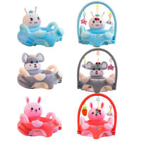Cartoon Baby Plush Chair Sofa Infant Learning Sit Chair Baby Support Seat
