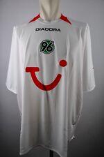 Hannover 96 Trikot Gr. 3XL weiß Jersey Tui Diadora XXXL 2010-11 jersey Shirt