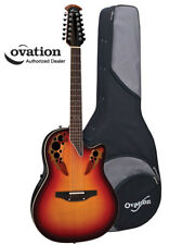 Ovation Standard Elite 2758AX 12-String Acoustic-Electric Guitar - NE Burst