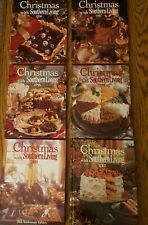 Lot of 6 Christmas With Southern Living 1996-99, 20TH Anniversary 2000+2003 EUC