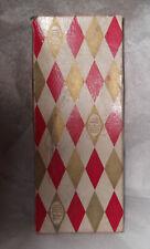 "Vintage Ideal VT10 1/2"" Little Miss Revlon Harlequin Doll Box for Platinum #9000"