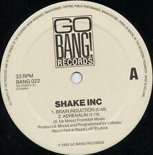 Shake Inc – Adrenalin OD *** Oldskool - Vinyl - Hardcore - Jungle - Rave ***
