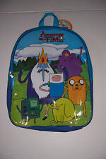 "ADVENTURE TIME FINN JAKE BMO 16"" BOYS SCHOOL BACKPACK NWT!"