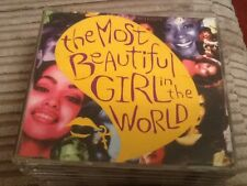 PRINCE - THE MOST BEAUTIFUL GIRL IN THE WORLD - CD SINGLE
