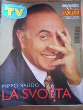TV Sorrisi e Canzoni n°2 1997 Pippo Baudo Albano Romina Power [D44]