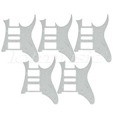 5pcs Electric Guitar Pickguard For Ibanez RG 7V replacement White Pearl