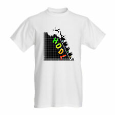 TUFF LUV Men's Crypto Cryptocurrency White T-Shirt HODL Roller Coaster Ride - XL