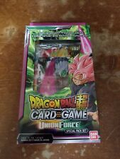 Dragon Ball Super Card Game BanDai Union Force Special Pack Set