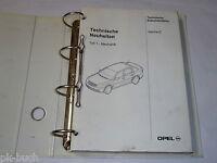 Técnica Novedades Técnica Documentación Opel Vectra C, Stand 12/2001