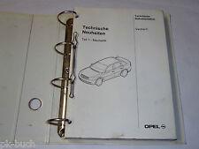 Technische Neuheiten Technische Dokumentation Opel Vectra C, Stand 12/2001