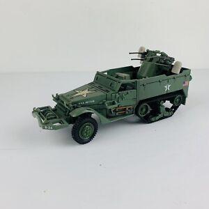 Detailed Armored Halftrack Model USA 4017335N WW2 DIECAST MODEL