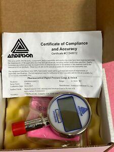 Anderson EP059W01000211 Tri-clamp Digital Pressure Gauge