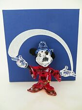 SWAROVSKI 5004740 'MICKEY MOUSE the SORCERER' PERFECT/BOXED. VINTAGE 2014 PIECE