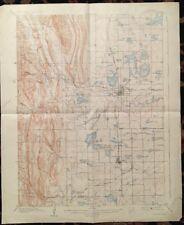 USGS Topographic Map 1908 Data LOVELAND QUADRANGLE, COLORADO