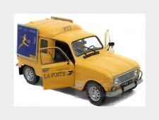 Renault R4 F4 Van La Poste 1974 Yellow SOLIDO 1:18 SL1802203