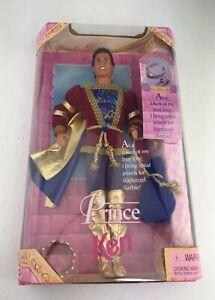 Prince Ken For Rapunzel Barbie 1997 #18080 NRFB Vintage Mattel Doll Necklace NIB