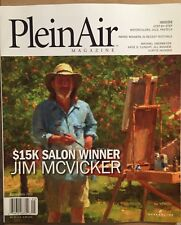 Plein Air Magazine Step By Step Watercolors Oils Pastels Sept 2015 FREE SHIPPING