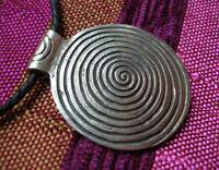 Wunderschönes großes AMULETT /Anhänger aus Nepal Spirale/Schnecke