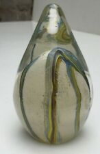 SIGNED MTARFA PAPERWEIGHT MALTESE ART GLASS MALTA BLOWN GLASS