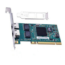 PCI Dual RJ45 Port Gigabit Ethernet Lan Network Card 10/100/1000Mbps Intel 82546