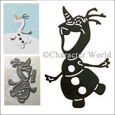 Olaf Disney metal die DUS0221 - Character World cutting dies - snowman Frozen