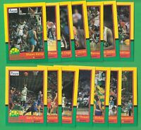 1990-91 Seattle SuperSonics Kayo Team Set - Rare Sonics - Kemp Payton (RC)