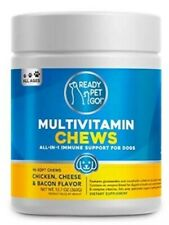 New listing ReadyPetsGo Rpg - Multivitamin Chews for Dogs All In One Immune Support 12.7oz