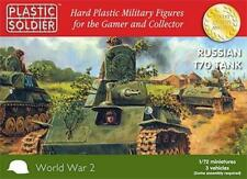 """Plastic Soldier Company """"1/72nd WWII Russian T70 Tanks"""" WW2V20009"""