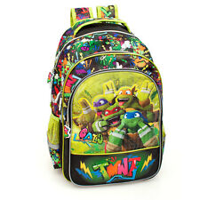 Tennage Ninja Turtles Premium XL Backpack Rucksack Boys Green Travel School Bag