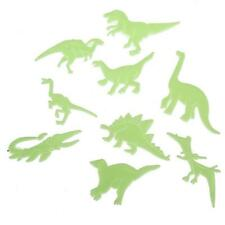 9pcs Glow In The Dark Dinosaurs With Detail For Bedroom Baby Nursery Kids Room