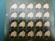 Tiffany Lamp Pane of 1 Cent Stamps  20 New Stamps On Sheet... MNH