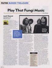 Leaf Hound Growers Of Mushroom a retrospective Article