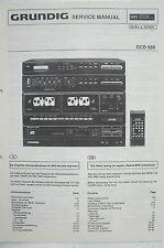 GRUNDIG - CCD 650 - Service Manual - B2519