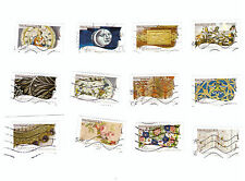 Serie complete timbres obliteres Metiers d'art - 2011